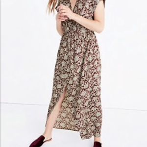 Madewell Wrap Dress in Estate Floral